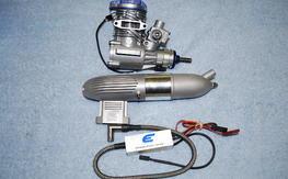 15GX 15cc (.91) Gas/Petrol Engine