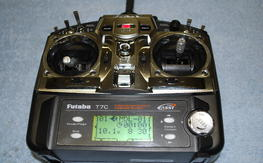 Futaba 7C 7-Channel 2.4GHz FASST Airplane Radio Transmitter