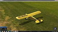 Name: RealFlight 6 Cub 60 percent.jpg