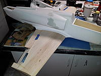 Name: checking fit of wing and fuse.jpg