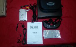Fat Shark Dominator V1 with 2.4ghz set up / Camera