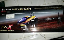 NIB Align TREX 450 DFC pro super combo
