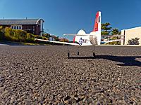 Name: PZUM.jpg Views: 136 Size: 172.6 KB Description: Parkzone UM T28 Trojan, ready for take-off!  :)