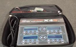 Hitec X4 AC Plus AC/DC Charger like new