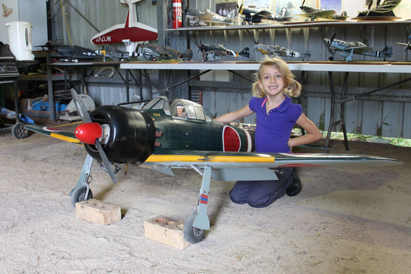 "The BIG 96"" Ziroli Zero In Ray's Hangar"