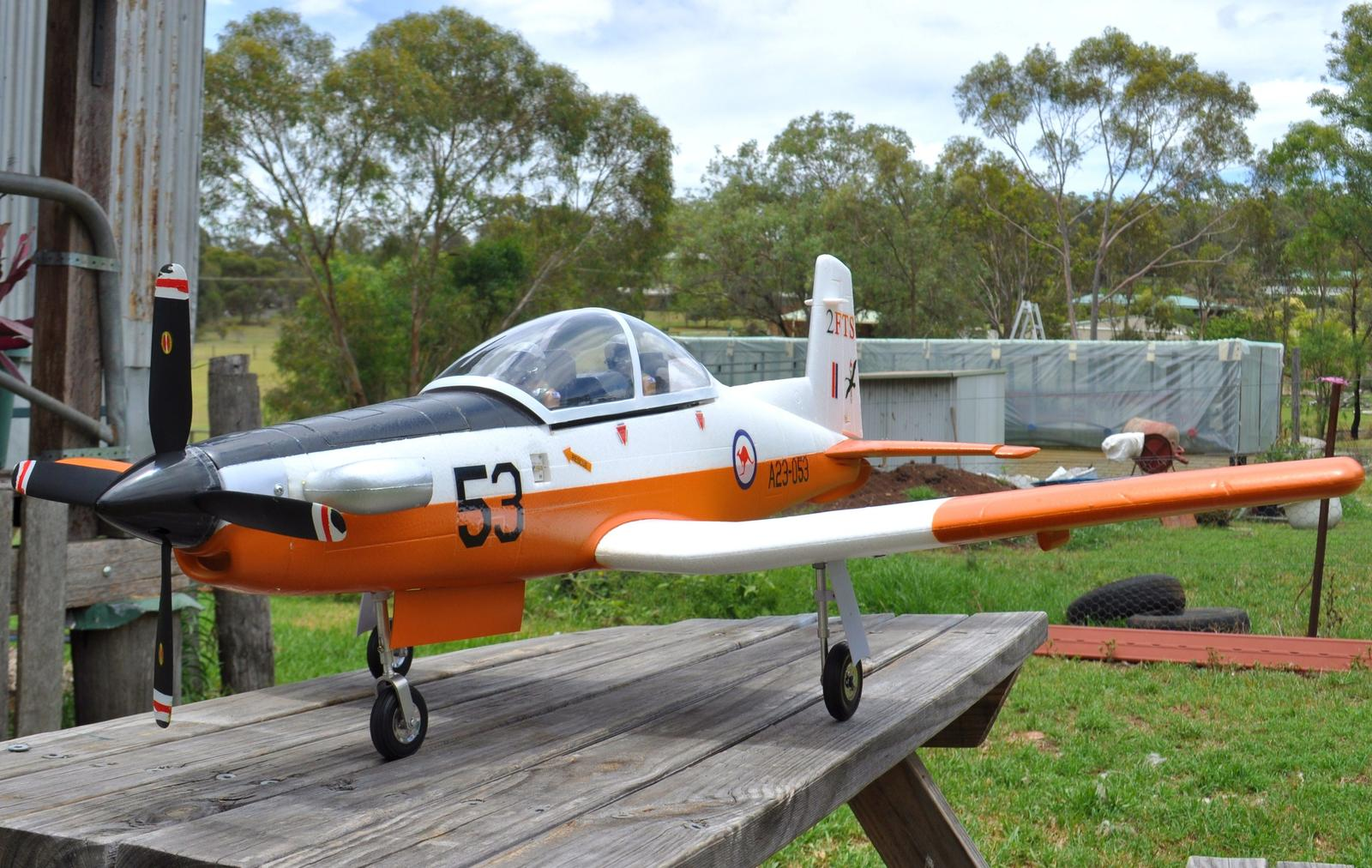 Unique Models RAAF PC9