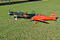 Name: Rays Stock FMS Zero and My modified A6M2-K.jpg
