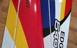 """Wild hare Edge 540T 84"""" wings, stabs ,rudder, cowl."""