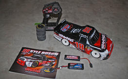 Traxxas 1/16 Kyle Bush Truck and 1/10 Bandit