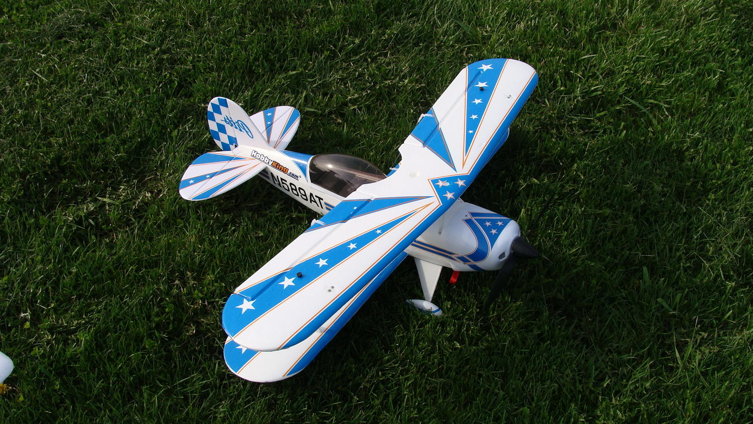 "33"" WS Pitts foamy"