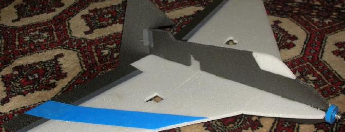 What a good looking plane! I added a stripe for orientation (before carbon fiber nose reinforcement and servos).
