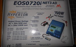 Hyperion 720i NET3 AD AC/DC Charger