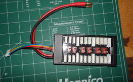 Parallel Charge board for Deans with Hyperion Balance Plug