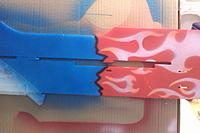 Name: IMAG0215.jpg Views: 81 Size: 155.1 KB Description: heres a close up of the shadow lines between the red and blue
