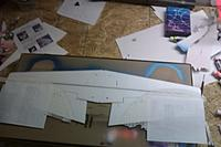Name: IMAG0223.jpg Views: 81 Size: 116.6 KB Description: the wing all taped up and ready for paint