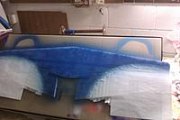Name: IMAG0224.jpg Views: 80 Size: 151.1 KB Description: heres the first coat of blue on