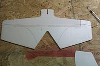 Name: IMAG0226.jpg Views: 70 Size: 158.2 KB Description: the paint lines all drawn on and ready for tape