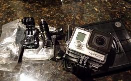New GoPro Hero 3 + Silver