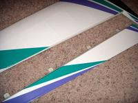 Name: DSCN1532.jpg Views: 308 Size: 68.8 KB Description: Hinging ailerons in place.  I like to glue the hinges on the aileron first, then glue them to the wing.