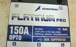 Hobbywing Platinum 150A PRO ESC Brushless