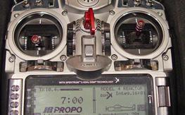 JR X9503 2.4 A/S Transmitter w/R921X Receiver Mode 2
