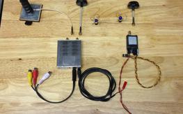 5.8 GHz FPV system (Diversity, Long Range Antenna)