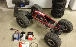 Used Rock Crawler RTR (no charger)