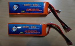 RMRC 4200mAh 3S 35C Lipo Pack  (2)