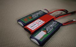 3x 4400/4500mah 2s packs revoelctrix and nano