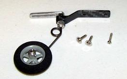 2 brand new Extreme flight Micro carbon tail wheel assemblies