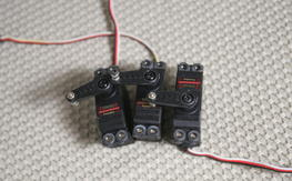 lot of 3 Futaba 9650 with metal gears