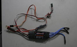 Exceed Proton 60a ESc with ZTW 3A bec