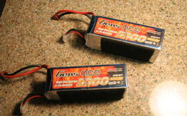 pair of Gens Ace 5300mah 6s 30c
