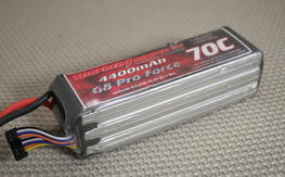 thunder power 4400mah 70c 6s crashed