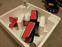 Name: 20141112_211819.jpg Views: 5 Size: 570.2 KB Description: NEW WINGS installed. this is how the plane looks now