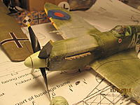Name: Micro Spitfire Prop Spinner Aileron Servo (2).jpg