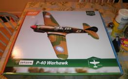 Parkzone UM P-40 Warhawk BNF with AS3X, $70 shipped