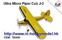Name: Ultra Micro Piper Cub J-3.jpg Views: 80 Size: 48.6 KB Description: Ultra Micro Piper CUB J-3