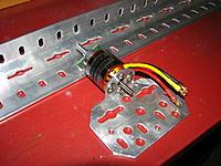 Name: IMG_3122.JPG Views: 31 Size: 628.1 KB Description: Home-made aluminiuum motor mount (bullet proof!)