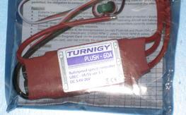 New Turnigy Plush 60AMP Esc BEC