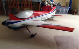 2M Gaudius Electric Pattern Airplane