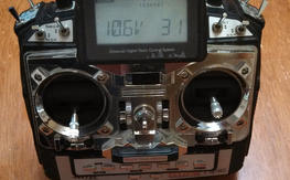 Hitec Eclipse 7 w/ Spectra module and 2 RX