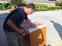 Name: ImageUploadedByTapatalk1374436951.494234.jpg Views: 361 Size: 133.4 KB Description: Brian using the planer ( a true Master with this tool)