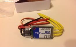 New YEP 80amp esc