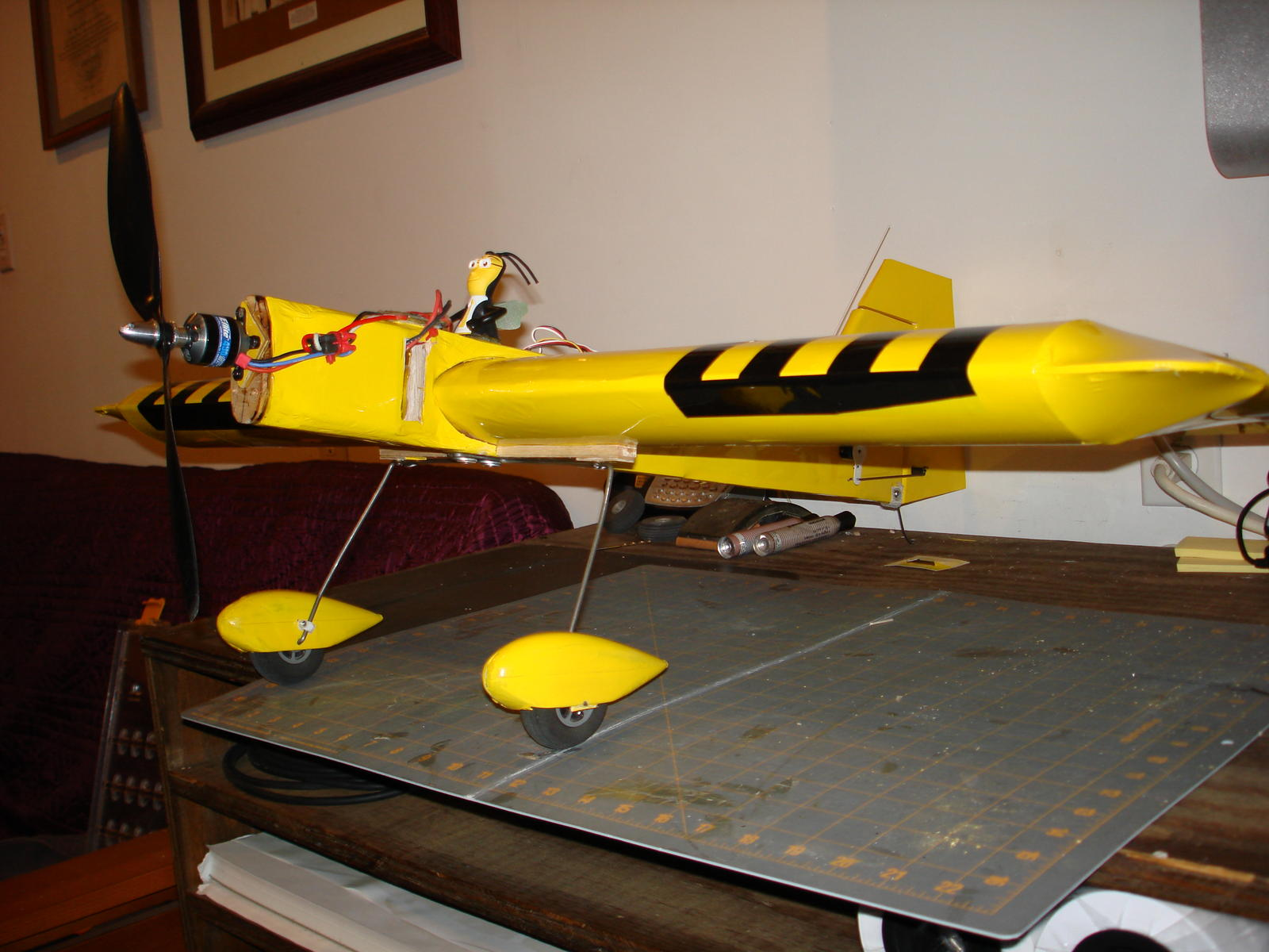 Scratch built design called the BEE