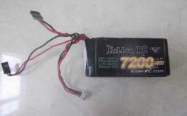 Killer RC 7200mah 7.4v Receiver Lipo Battery