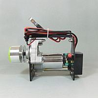 Name: 13155479204.jpg Views: 35 Size: 49.1 KB Description: Mega torque gas engine starter!! Rugged heavy brush starter with a cnc milled carbon fiber frame!