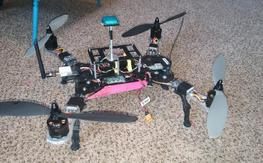 BNF FPV 500 Class with Avroto motors,OSD n more