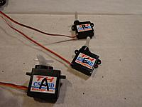 Name: CYSL-007A.jpg Views: 282 Size: 64.2 KB Description: Mark the servos for the channel you set them up for, this will come in handy later in the build