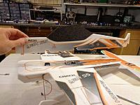 Name: CYSL-095A.jpg Views: 275 Size: 107.5 KB Description: Test fit the top half of the fuselage